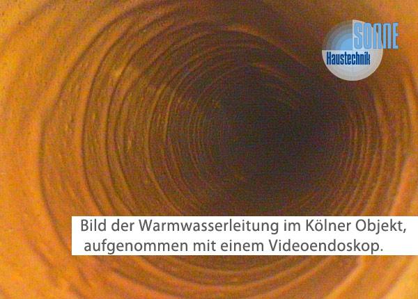 Warmwasserleitung Köln