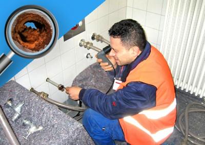Wir sanieren Ihre Rohre ohne Umbauschmutz
