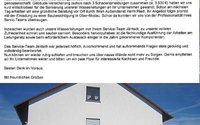 Bernsbach Referenz: Rohrsanierung