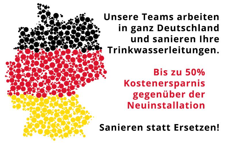 Sonne Rohrsanierung in Deutschland